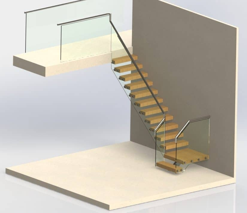 What are Part K building regulations and how do they apply to staircases in commercial properties?