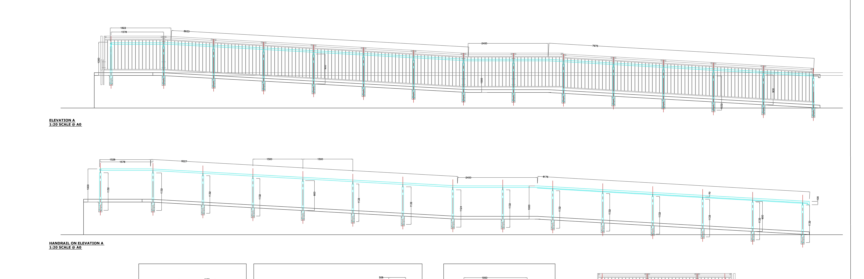 Technical Expertise external handrails