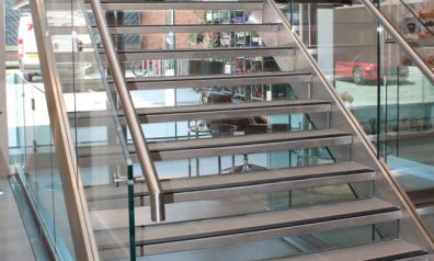 Glass Staircases for Restaurants