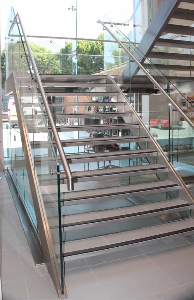 Why install a bespoke glass staircase in your restaurant?