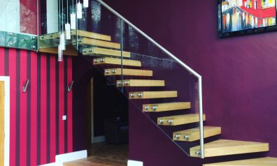 Glass Staircases for Residential Properties