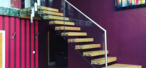 Southwell Residential Glass Staircase