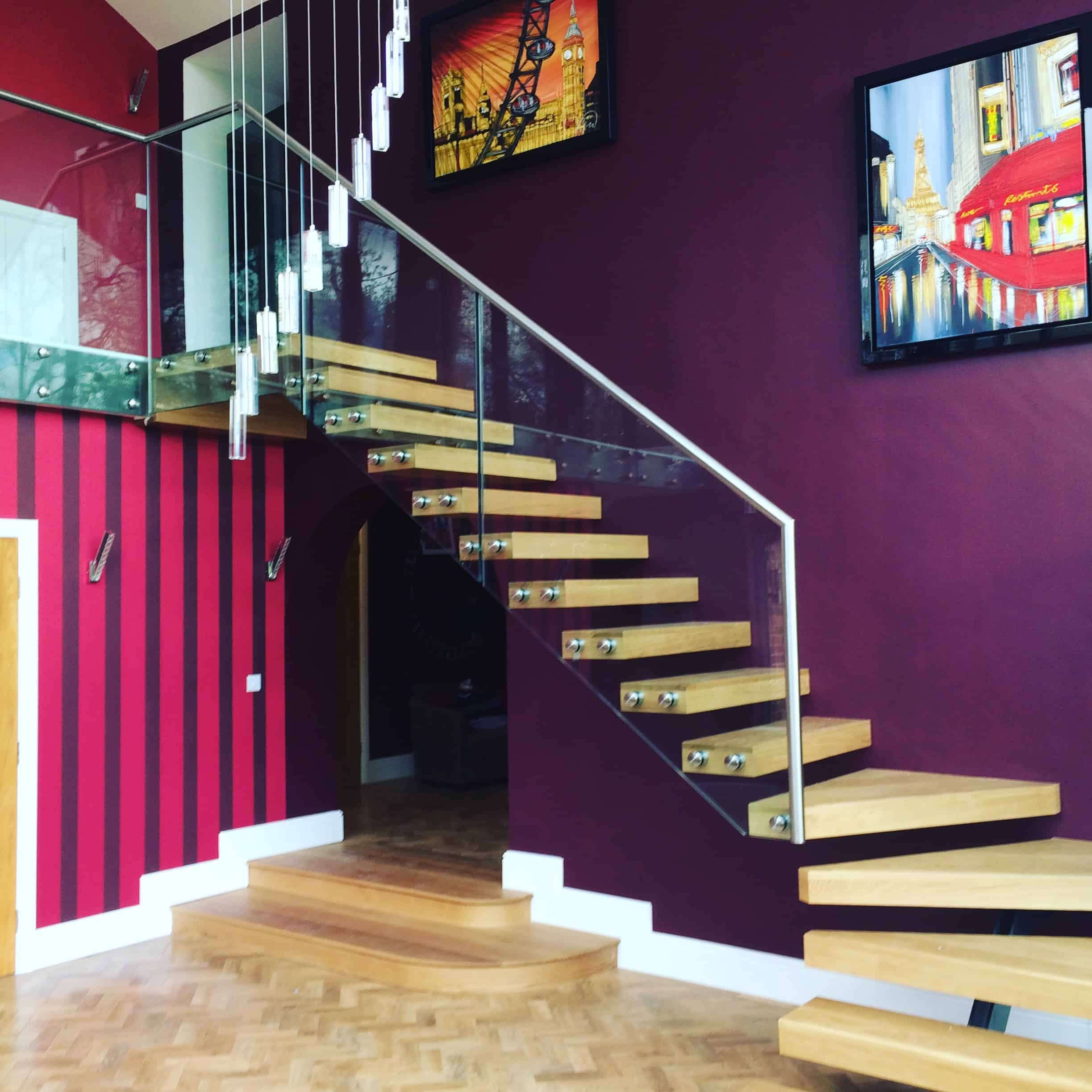 New feature staircase installed at residential property in Southwell