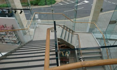 Glass Staircases for Hospitals
