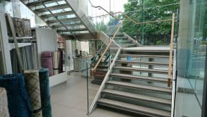 Next Southampton Glass Staircase