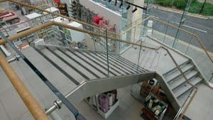 Next Southampton Glass Staircase