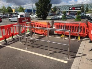 shopping trolley corrals