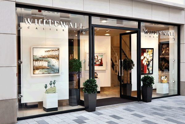 Essential Projects appointed to install mezzanine floor in Whitewall Galleries store