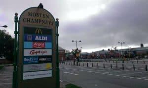 Mostyn Champneys Shopping Trolley Corrals