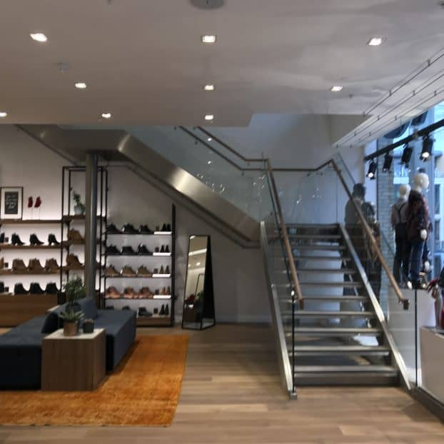 New glass staircase features at Westgate Oxford