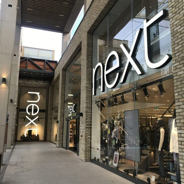 Bespoke Window Gate added to Next Store in Sheffield