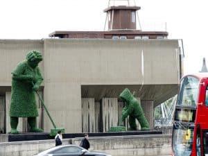 sweepers giant topiary figures