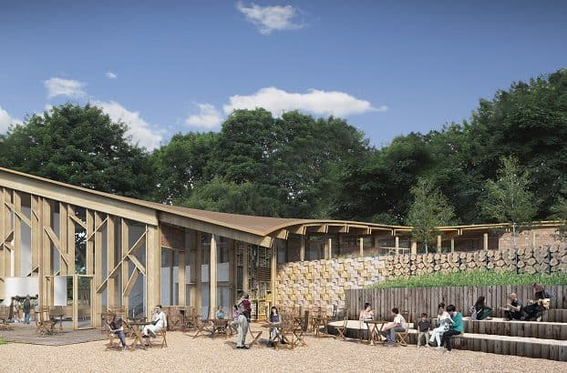 Essential Projects one of contractors on £5m Sherwood Forest Visitors Centre