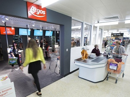 Essential Projects involved in new Argos concession outlet in Chesterfield