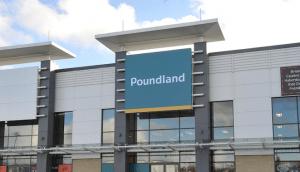 glass staircase Poundland Peterborough