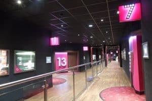 Bespoke metalwork for Cinemas