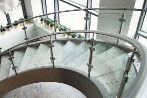Glass Balustrade for hotels