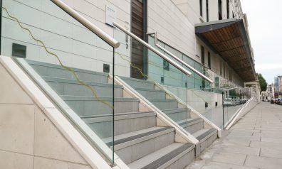 Glass Balustrade for Offices