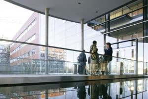 Glass Balustrade for Universities