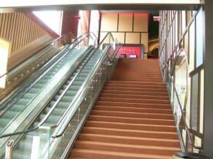 Glass Staircases for Cinemas