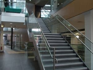 Glass Staircases for Universities
