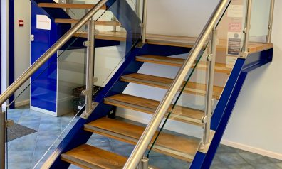 Glass Staircases for Offices