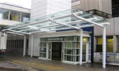 Glass Canopies for Hospitals
