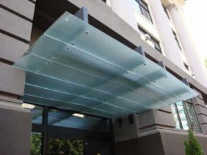 Glass Canopies for Hotels