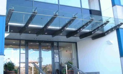 Glass Canopies for Offices