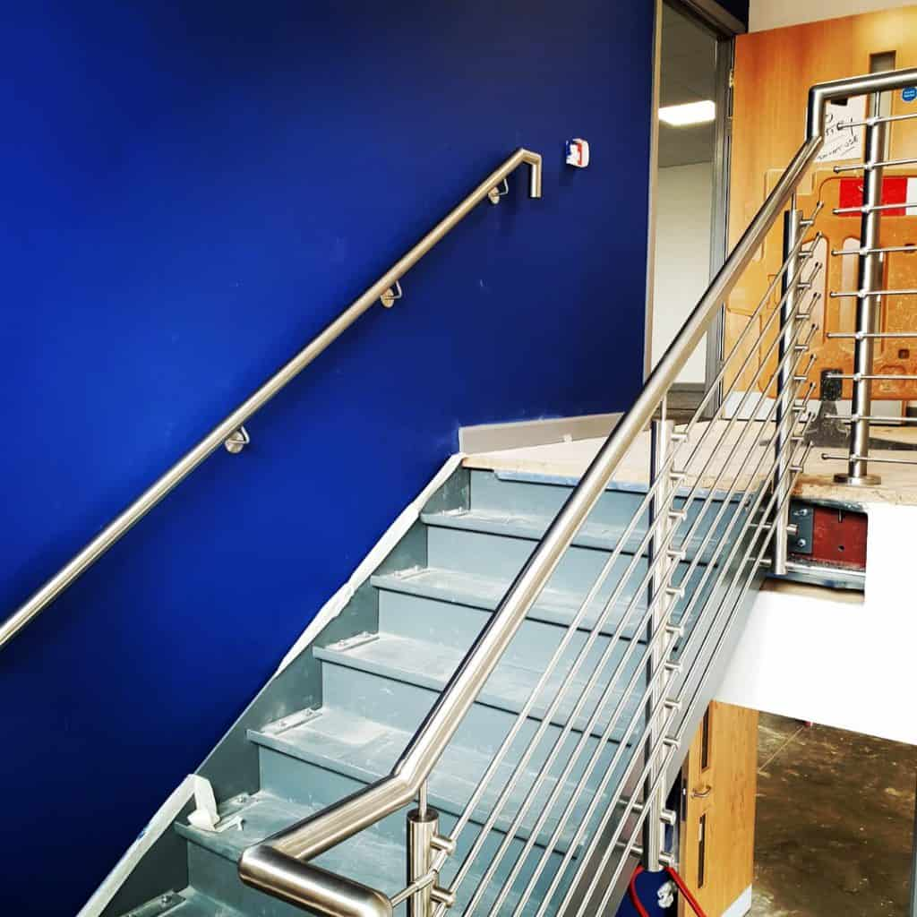 Steel Staircase for commercial offices