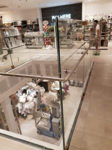glass balustrade for retail Havant
