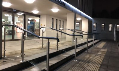 Glass Balustrade for Universities