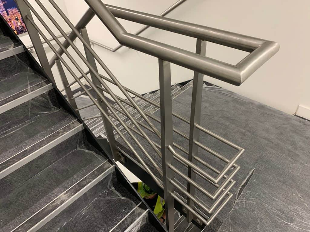 steel handrail for offices