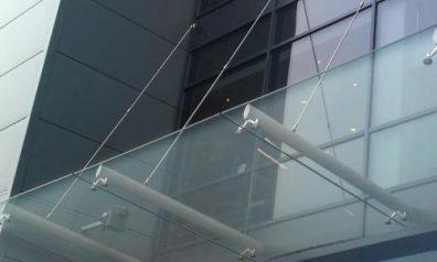 Glass Canopies for Restaurants