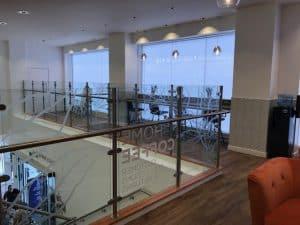 Mezzanine Glass Balustrade