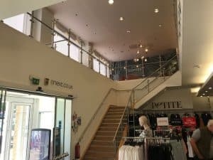 Mezzanine Glass Balustrade