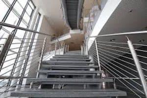 steel handrails for cinemas
