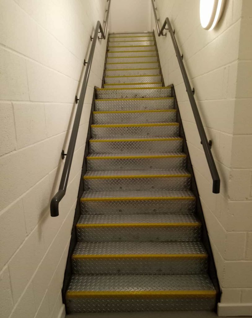 commercial steel staircases