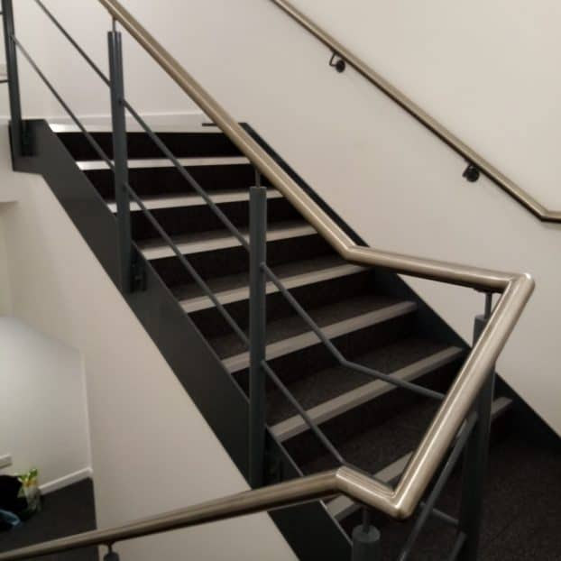 Commercial staircases added to West Midlands office units