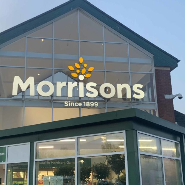 Bespoke architectural metalwork installed at new Morrisons store in Manchester