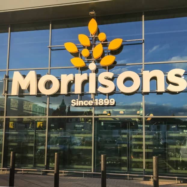 Dalton Park Morrisons adds new stainless steel cladding
