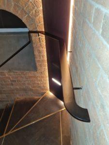 Bespoke steel handrails | The Lakeside