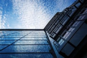 Architectural metal and glasswork for hotels